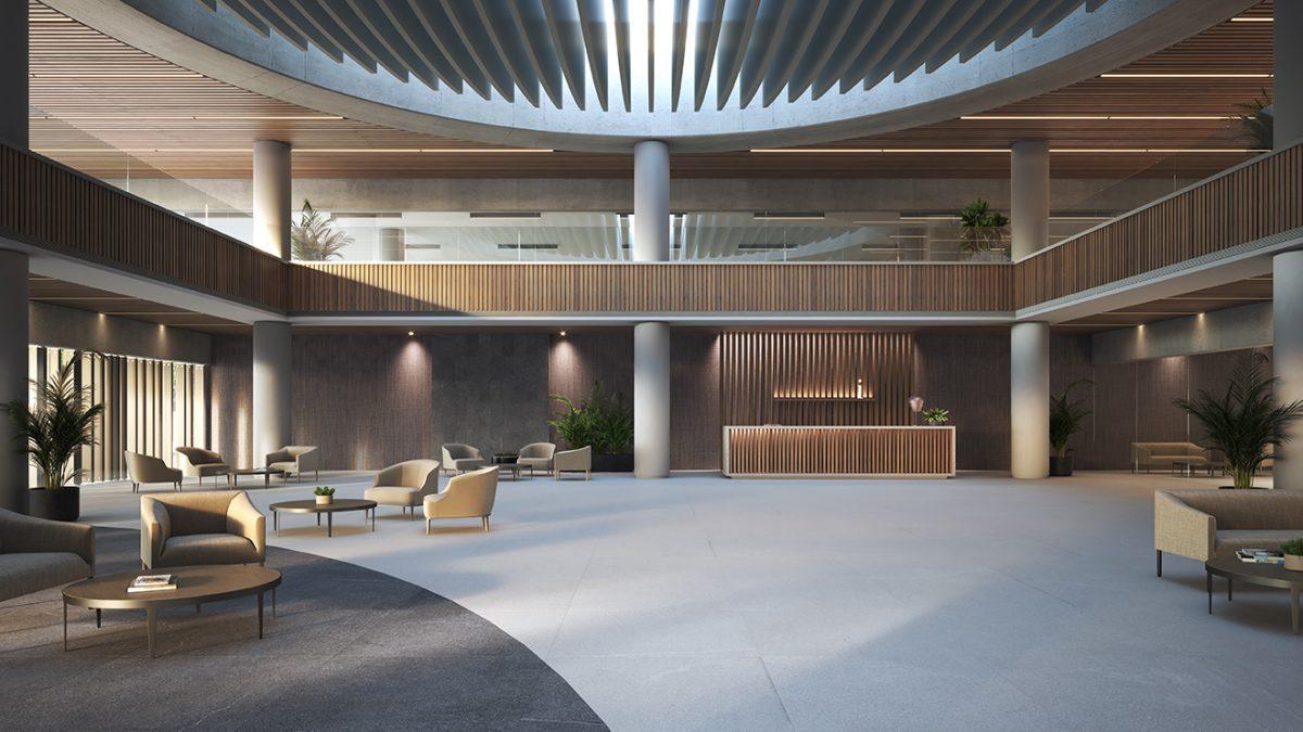 Espacio oficinas diseñado con Petra